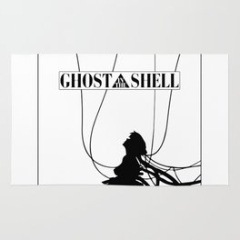 Ghost In The Shell (w/ Frame) Rug