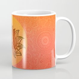 Lotus Flower of Life Meditation  Art Coffee Mug