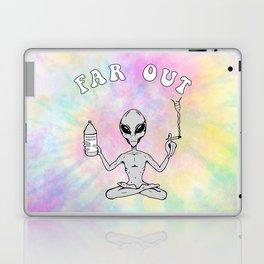 Far Out Alien (Pastel) Laptop & iPad Skin