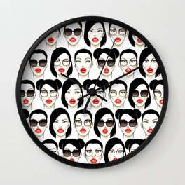Beauty Beyond Wall Clock