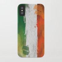 ireland iPhone & iPod Cases featuring Ireland by Fresh & Poppy