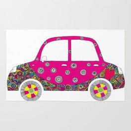 Colorful car Rug