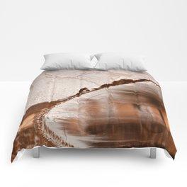 Stream of Peeling Dreams Comforters