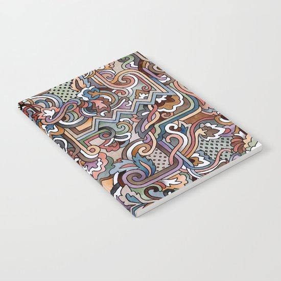 Rayas y rulos Notebook