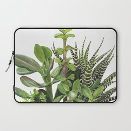 Watercolor Succulents Laptop Sleeve