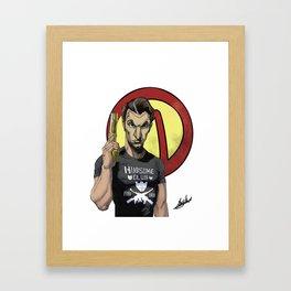 Handsome Jack Bullet Club Framed Art Print