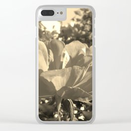 Floral Symphony Clear iPhone Case