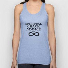 Spiritual Crack Addict Unisex Tank Top