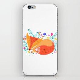 Summer Fox iPhone Skin