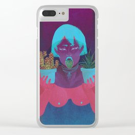 Thorns Of Truth Clear iPhone Case