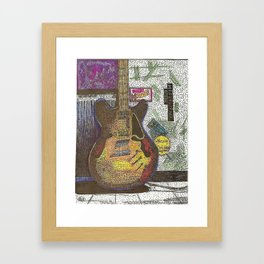 GuitarPoint Framed Art Print