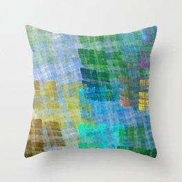 Abstract Fabric Designs 4 Duvet Covers & Pillows Throw Pillow
