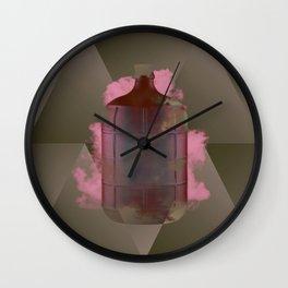 Bottle II Wall Clock