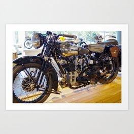 Mirror Mirror on the bike Art Print