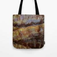 bacon Tote Bags featuring Bacon by John Grey