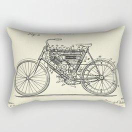 Motor Cycle-1901 Rectangular Pillow