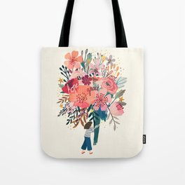 Floral bouquet Tote Bag