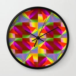 Geometric Lux QR Wall Clock