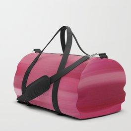 """Abstract Pink Sunrise Porstroke (Pattern)"" Duffle Bag"