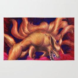 Kurama - Nine Tailed Fox Rug