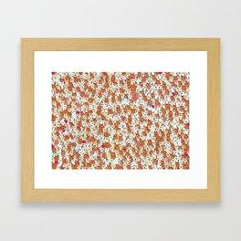 Hamster mash Framed Art Print