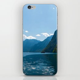 Koenigssee Lake with Alpes iPhone Skin