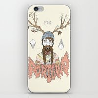 portland iPhone & iPod Skins featuring PORTLAND I by Michael Todd Berland