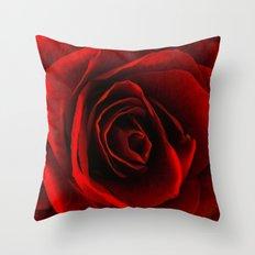 rose d'amour Throw Pillow
