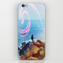 Ocean Swirl iPhone Skin