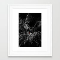 bond Framed Art Prints featuring bond by arnaldorodriguez