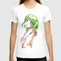 vocaloid T-shirts featuring Gumi FANART by jannaj