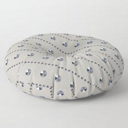 """Illustration .   """" Diamonds"""" . Floor Pillow"""