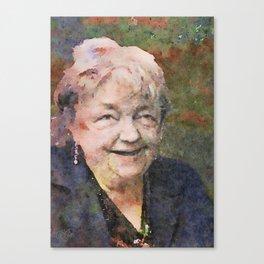 Maeve Binchy 1939-2012 Canvas Print
