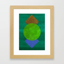 Water color print Framed Art Print