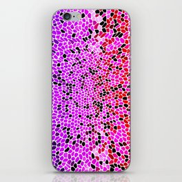THINK LILAC CORAL iPhone Skin