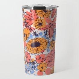 February Florals Travel Mug