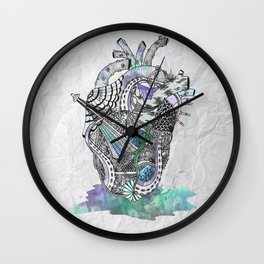 Davy Jone's Heart Wall Clock