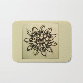Eye Flower Bath Mat
