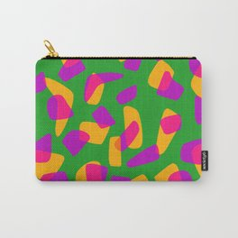 happy pink shapes Carry-All Pouch