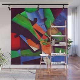 Juan Gris The Smoker Wall Mural