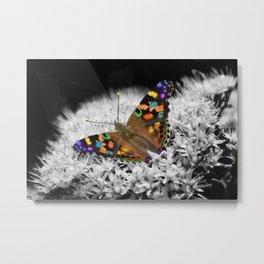Splash of Flutter Metal Print