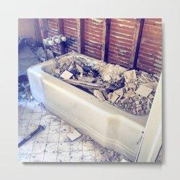 Dorchester Bathtub Metal Print