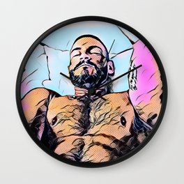 Pow Wow! Wall Clock