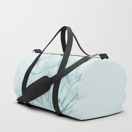 Dandelion In Blue Duffle Bag