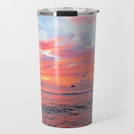 Caribbean Sunset Travel Mug