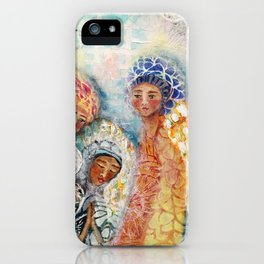 Presence of Angels  iPhone Case