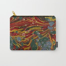 Melting Marbled Paper Carry-All Pouch