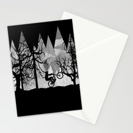 MTB Black Trees Stationery Cards