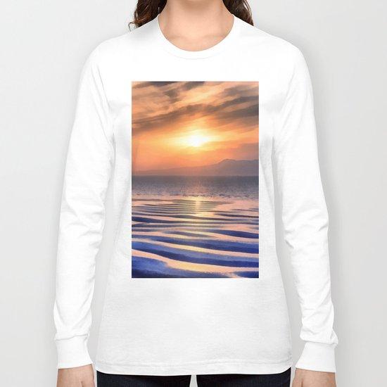 Sunset at high tide Long Sleeve T-shirt