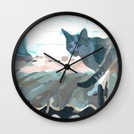 Looking Back 2017 Wall Clock